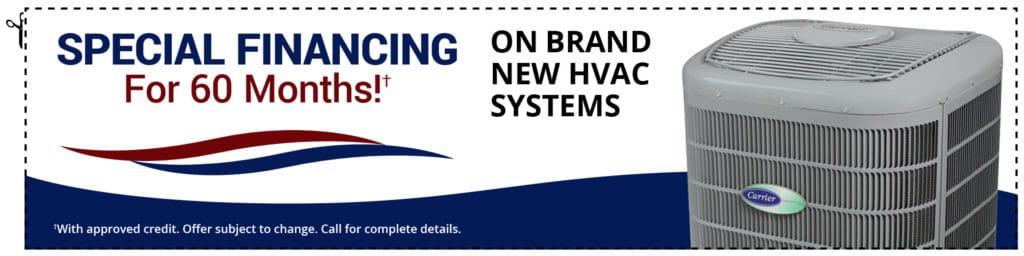 Special HVAC Financing